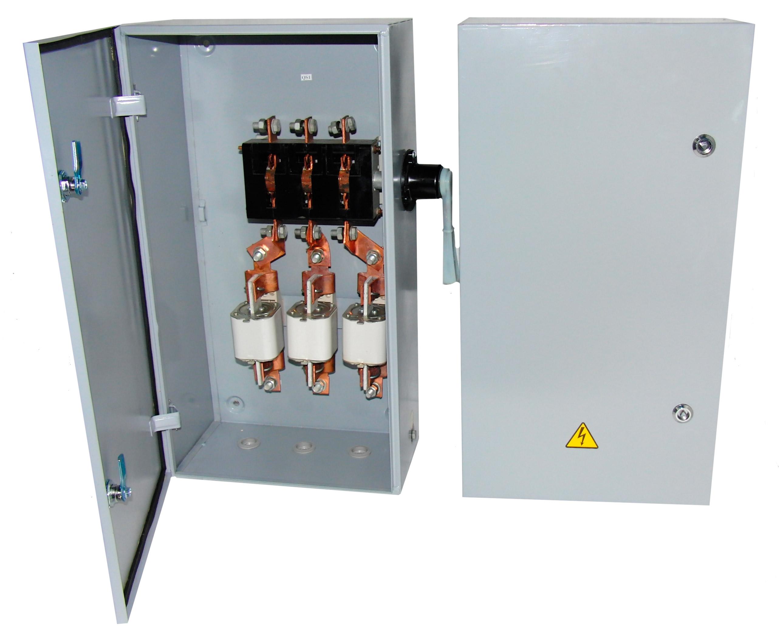 Ящик с разъединителем и предохранителями ЯВЗ-6 (630A IP54)