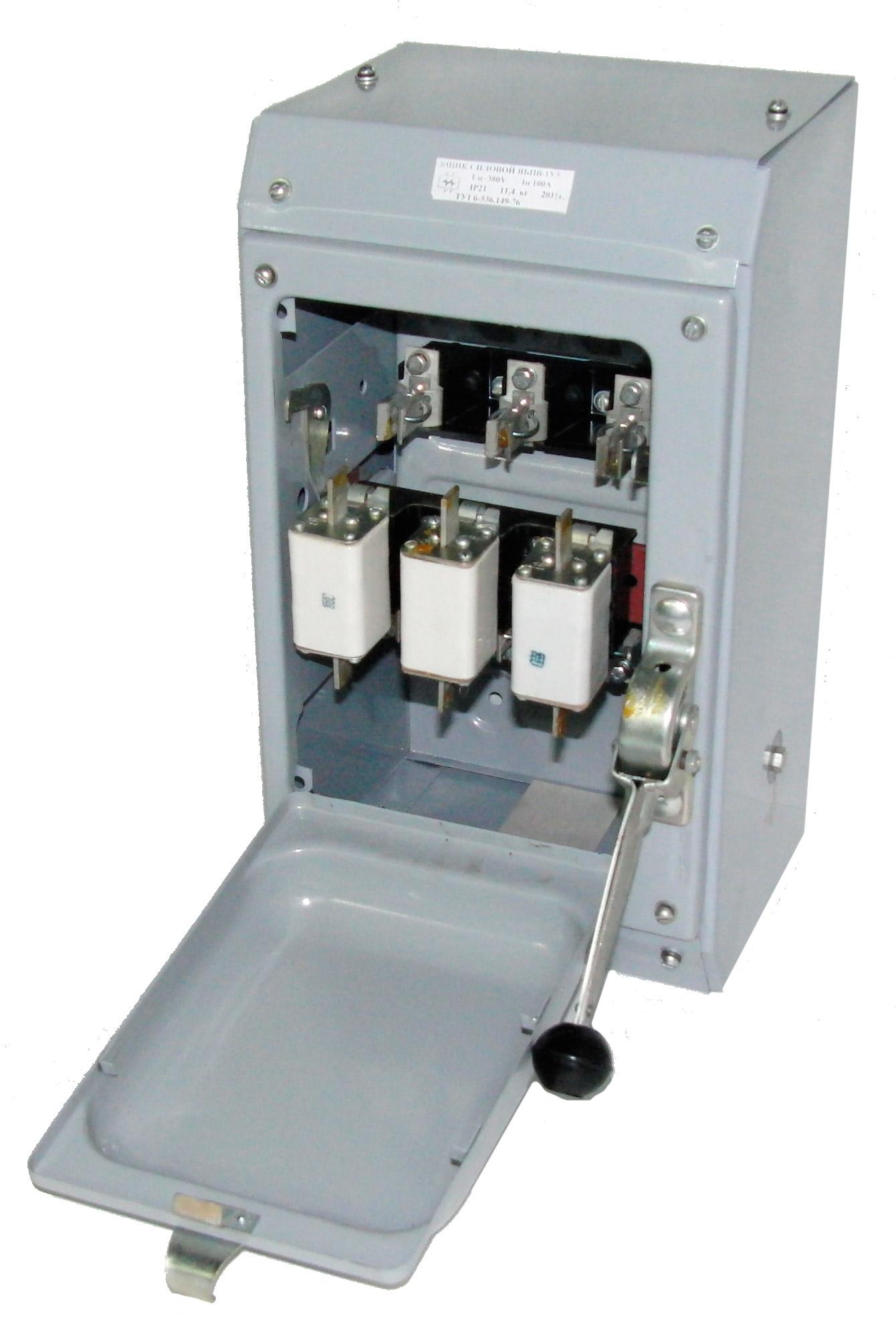 Ящик силовой с блоком предохранитель - выключатель (ЯБПВ – 1 100А У3)