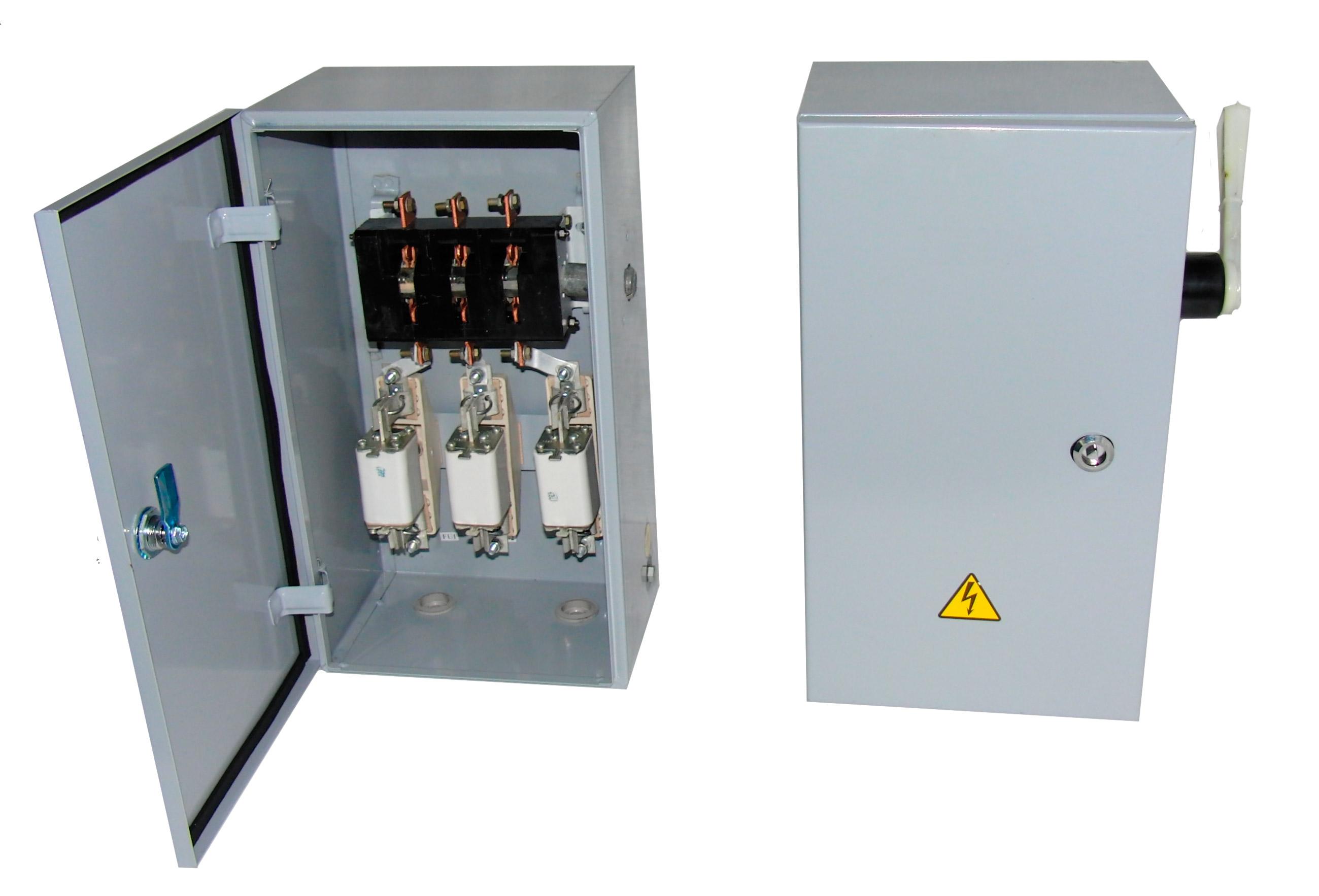 Ящик с разъединителем и предохранителями ЯВЗ-1 (100A IP54)